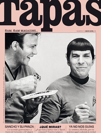 cover tapas star treck