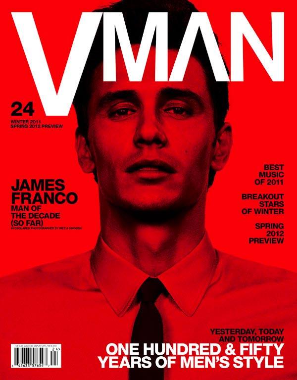 James Franco cover V Man