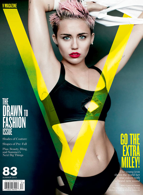 miley cyrus v magazine cover