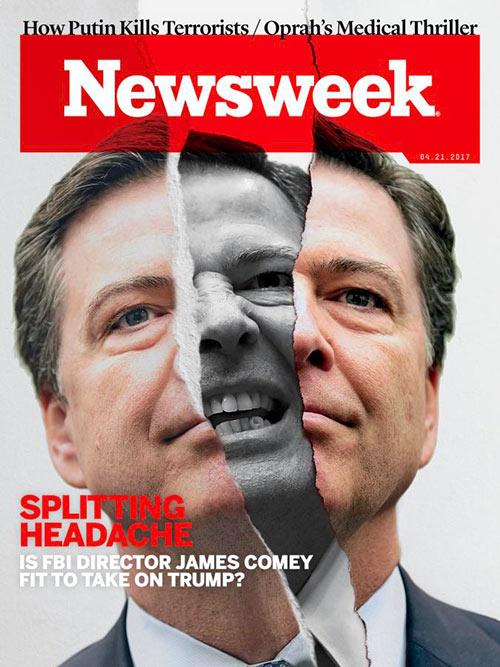 Newsweek cover FBI