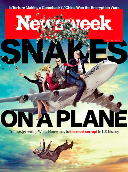 Newsweek cover Plane