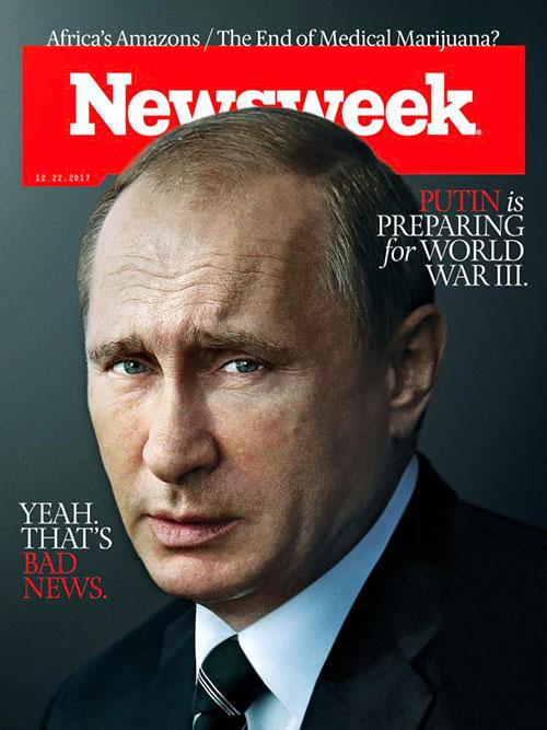 Newsweek cover Putin
