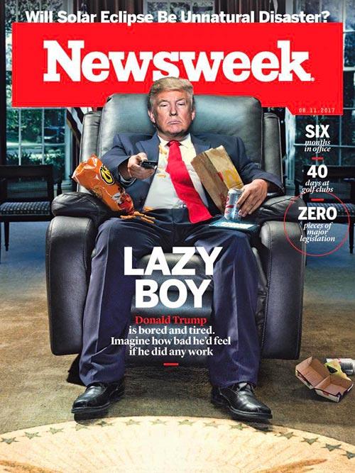 Newsweek cover Trump