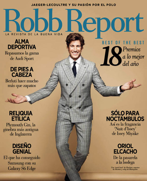Robb Report Cover