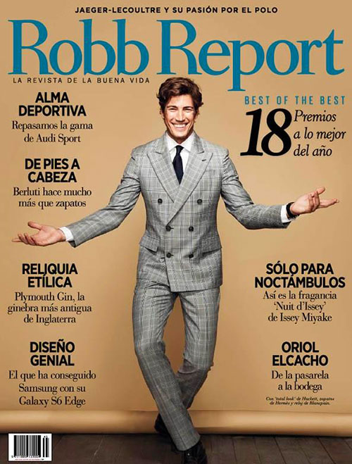 Robb report cover 2
