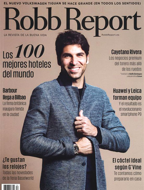 Robb report cover 3