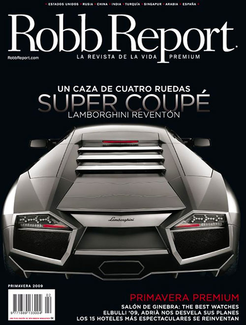 Robb report cover 4