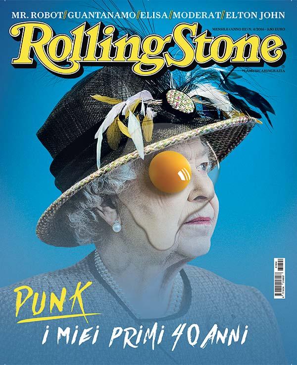 Rolling Stone cover Regina Elisabetta