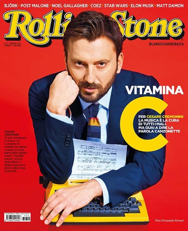 Rolling Stone cover Cesare Cremonini