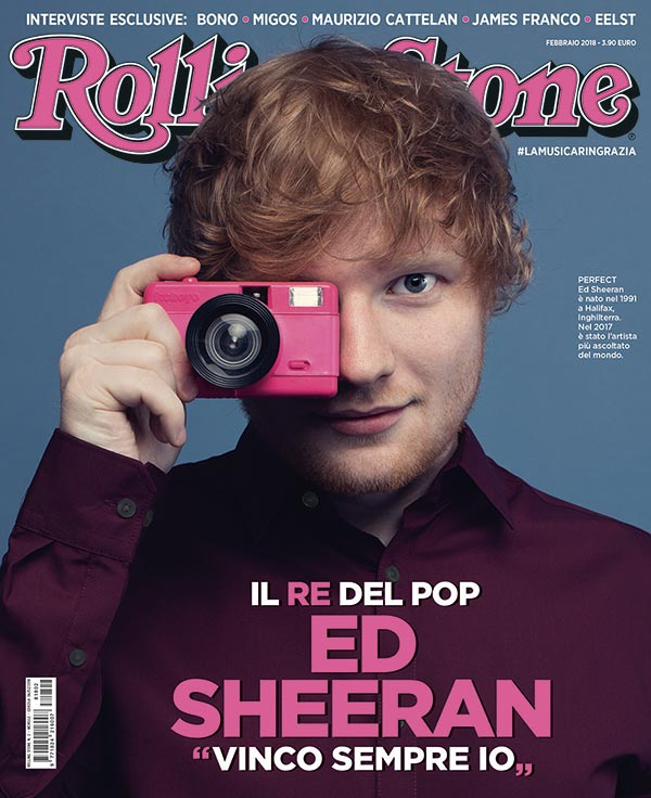 Rolling Stone cover Ed Sheeran
