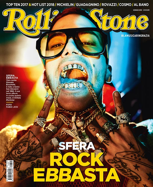 Rolling Stone cover Gennaio 2018