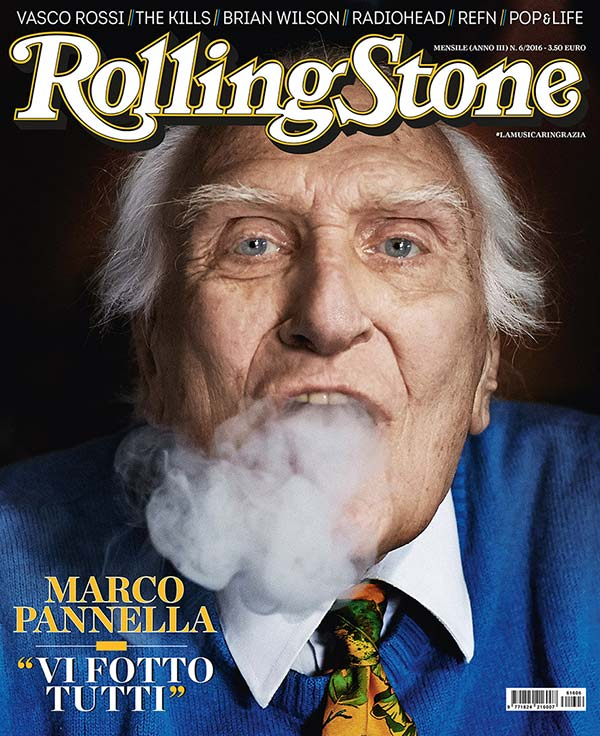 Rolling Stone cover Marco Pannella