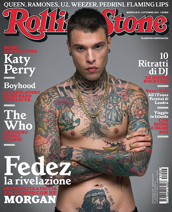 Rolling Stone cover Fedez