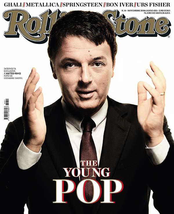 Rolling Stone cover Matteo Renzi