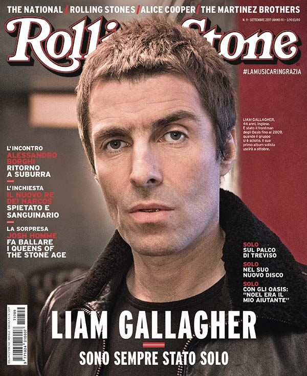 Rolling Stone cover Liam Gallagher