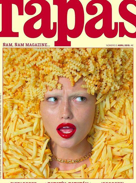 Tapas Magazine Cover