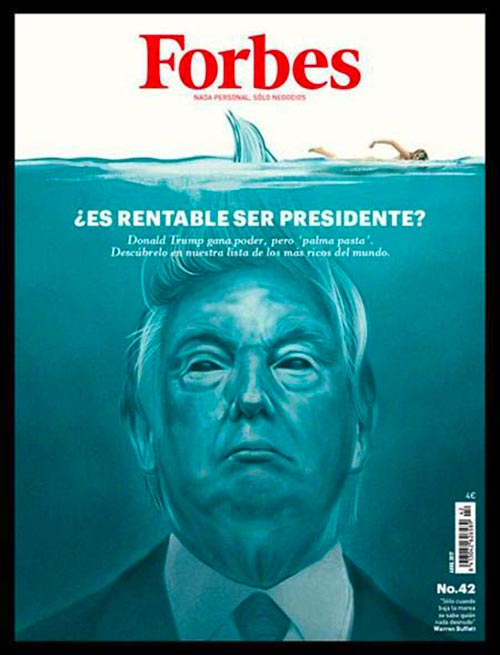 Forbes cover Trump