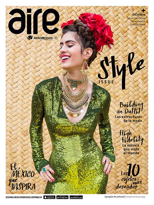 Aire Aeromexico onboard magazine cover 3