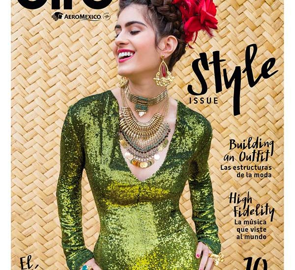 Aire Aeromexico onboard magazine cover default
