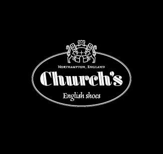 Church's logo bianco