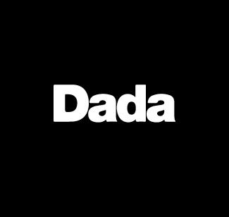 Dada logo bianco