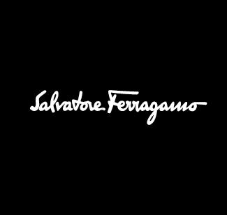 Salvatore Ferragamo logo bianco
