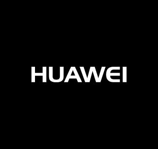 Huawei logo bianco