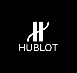 Hublot logo bianco