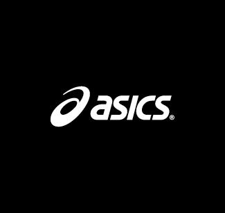 Asics logo bianco