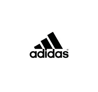 Adidas logo nero