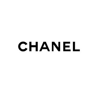 Chanel logo nero