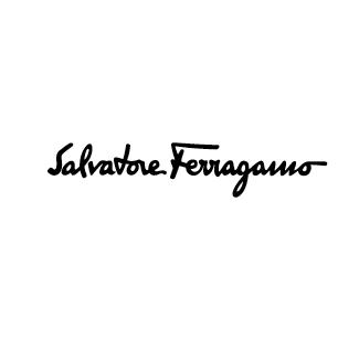 Salvatore Ferragamo logo nero