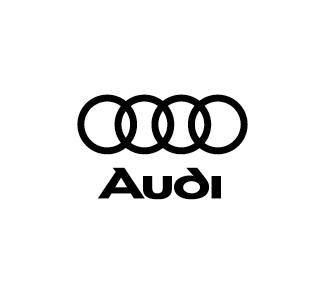 Audi logo nero
