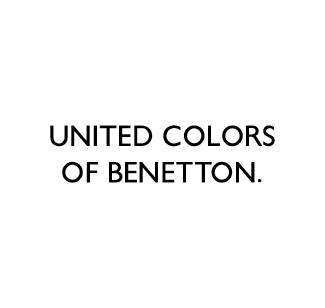 United colors of benetton logo nero