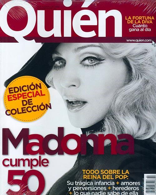 Quién magazine cover 4