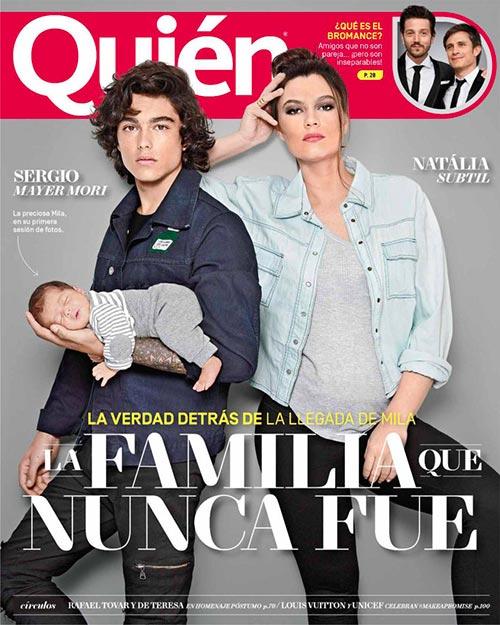 Quién magazine cover 3