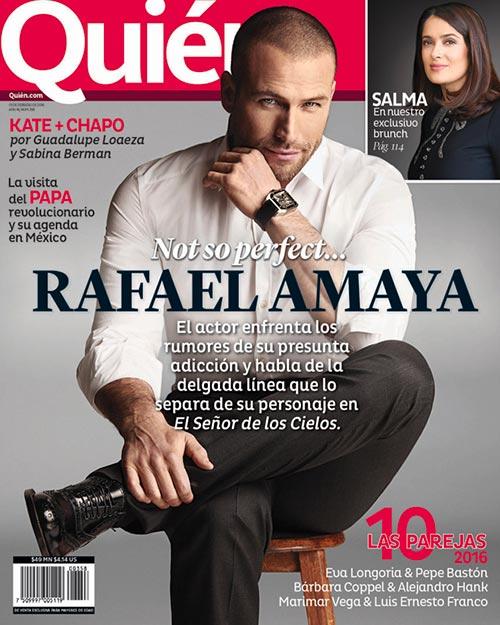 Quién magazine cover 1