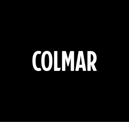 Colmar logo bianco