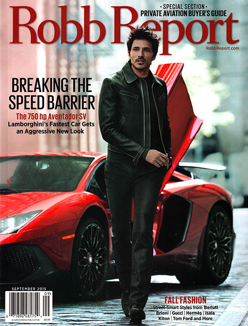 Robb Report USA cover