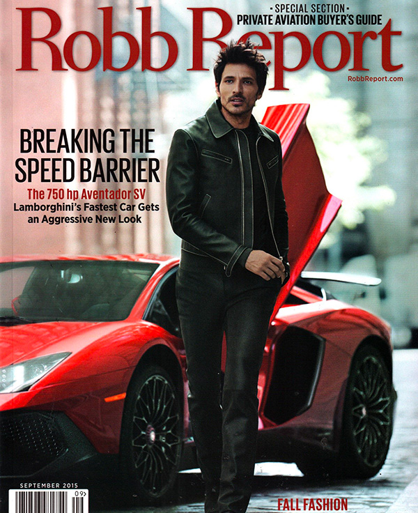 Robb Report USA main cover