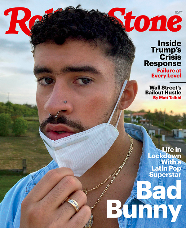 Bad Bunny cover rolling stone us