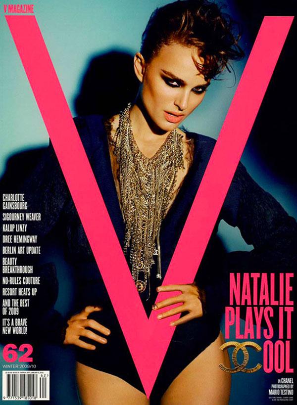 natalie portman v magazine cover