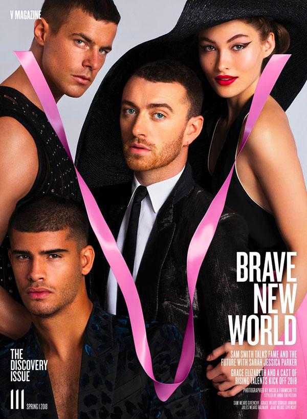 Sam Smith V Magazine Cover
