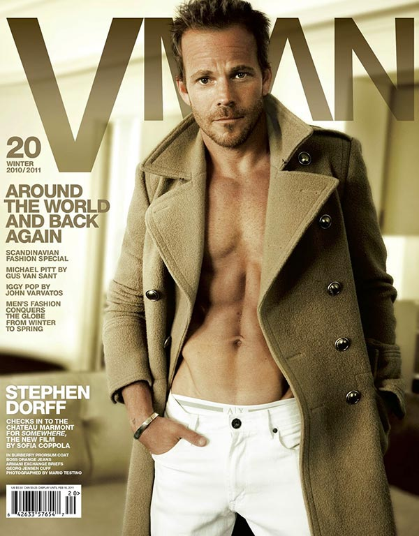 Stephen Dorff cover V Man