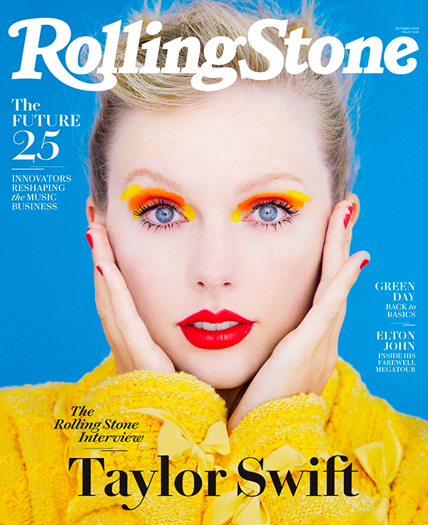 Taylor Swift cover rolling stone us
