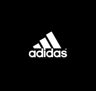 Adidas logo bianco