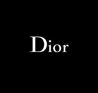 Dior logo bianco