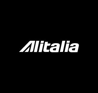 Alitalia logo bianco