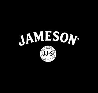 Jameson logo bianco