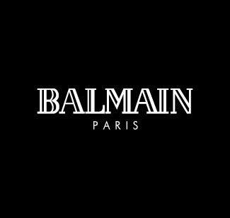 Balmain logo bianco